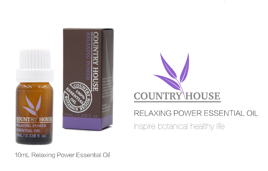 relaxing power essential oil