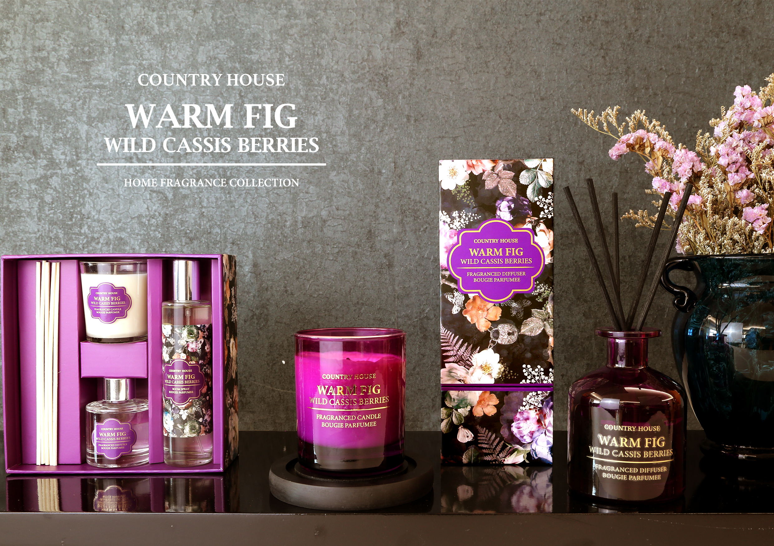 Warm Fig Home Fragrance Drawer Liner