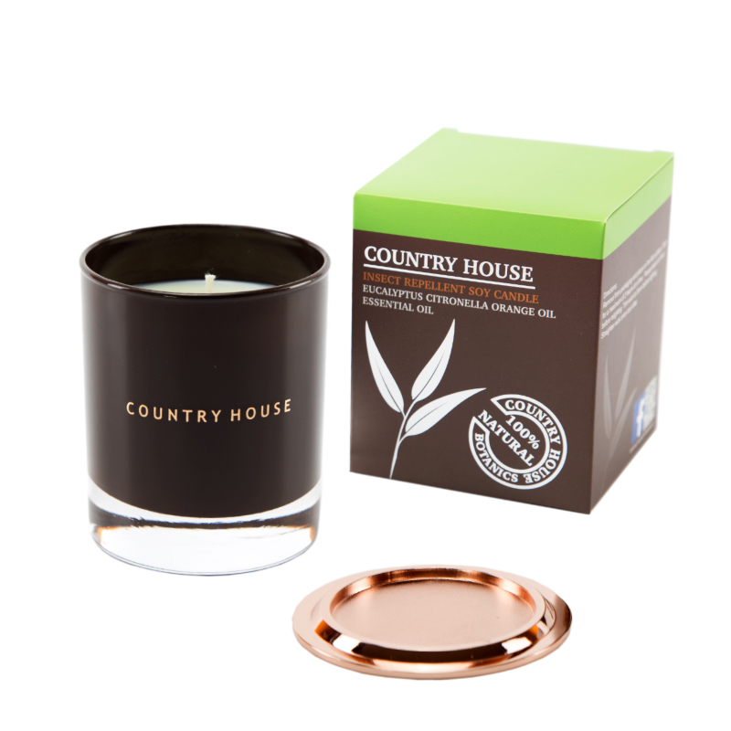 insect repellent soy candle