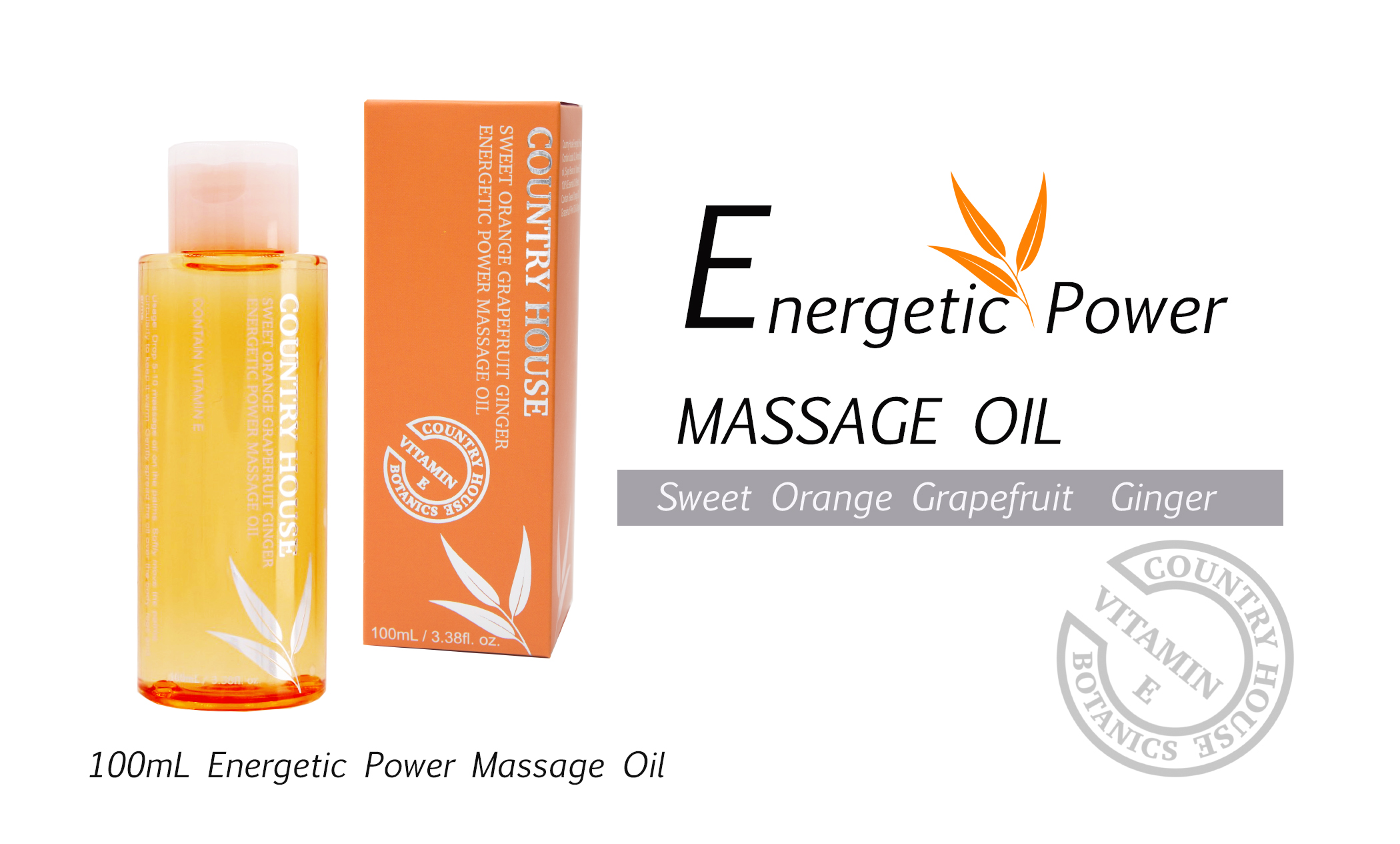energetic power massage oil